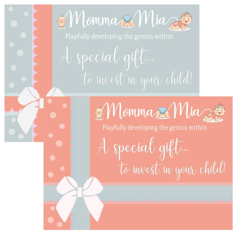 MommaMia Gift Vouchers