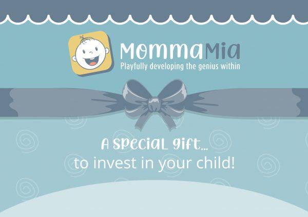 MommaMia Gift Voucher Blue